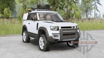 Land Rover Defender 90 D240 SE Adventure 2020 for Spin Tires