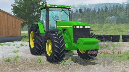 John Deere 8400〡rear view camera for Farming Simulator 2013