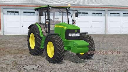 John Deere 5080R〡animated window for Farming Simulator 2015