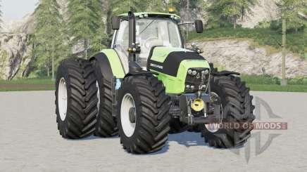 Deutz-Fahr Serie 7〡tires adjusted for Farming Simulator 2017