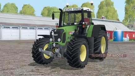 Fendt 820 Vario TMS〡folding front arm for Farming Simulator 2015