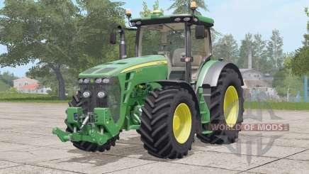 John Deere 8R series〡changed engine power for Farming Simulator 2017