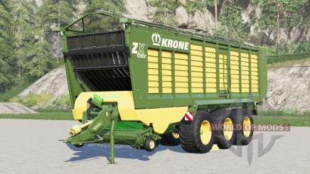 Krone ZX 560 GD〡capacity selection up to 200000l for Farming Simulator 2017
