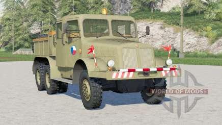 Tatra T141 1957〡pro tahání přívěsů for Farming Simulator 2017