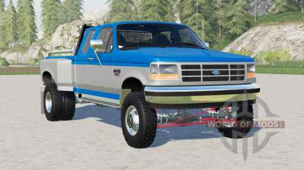 Ford F-350 XLT Extended Cab Dually 1995 for Farming Simulator 2017