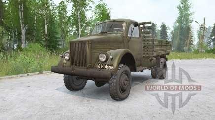 Gaz-63P for MudRunner