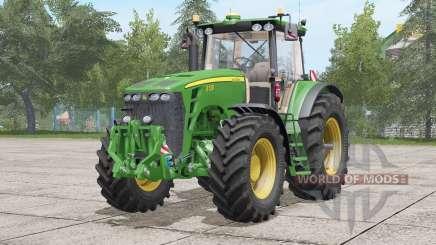 John Deere 8030 series〡sound update for Farming Simulator 2017