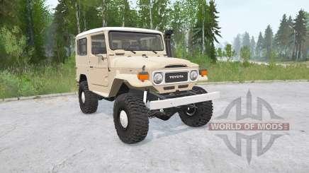 Toyota Land Cruiser Hard Top (FJ40) for MudRunner
