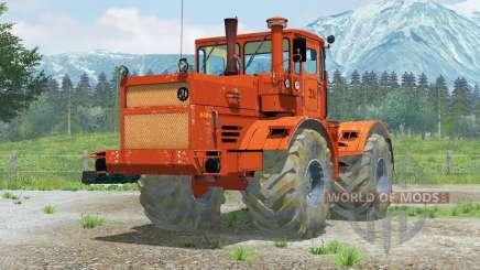 Kirovets K-700A〡rule return steering for Farming Simulator 2013