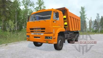 Kamaz-6522-53 for MudRunner