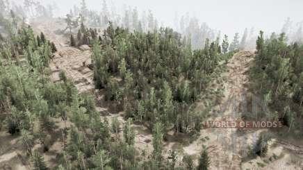 On hilly roads v1.1 for MudRunner