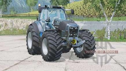 Deutz-Fahr 7250 TTV Warrior〡added wheels for Farming Simulator 2015
