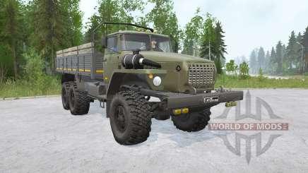 Ural-4320 6x6〡s cargo for MudRunner