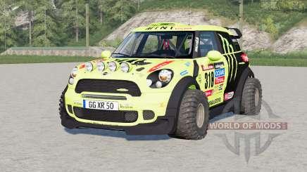 Mini John Cooper Works Countryman WRC Prototype (R60) 2010 for Farming Simulator 2017
