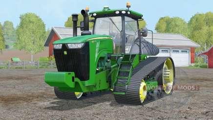 John Deere 9560RT〡steering wheel adjustment for Farming Simulator 2015