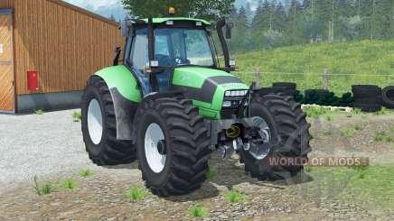Deutz-Fahr Agrotron 150.7〡automatic reverse lights for Farming Simulator 2013