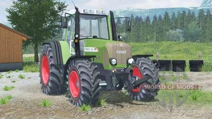 Fendt 412 Vario TMS〡manual ignition for Farming Simulator 2013