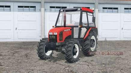 Zetor 5340〡dynamic exhausting system for Farming Simulator 2015