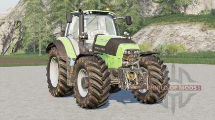 Deutz-Fahr Serie 7 TTV Agrotron〡wheels selection for Farming Simulator 2017