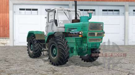 T-150K〡dust from under the wheels for Farming Simulator 2015