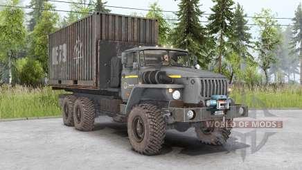 Ural-4320-1951-60 for Spin Tires