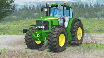 John Deere 7530 Premiuӎ for Farming Simulator 2013