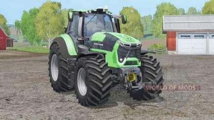Deutz-Fahr 9340 TTV Agrotron〡new driving physics for Farming Simulator 2015
