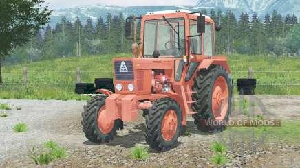 Mth-82 Belarus〡rule ignition for Farming Simulator 2013