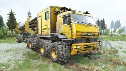 Kamaz-6560 Polar explorer v1.2 for MudRunner