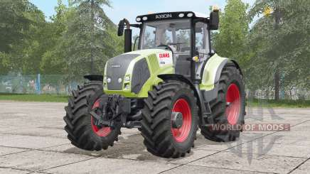 Claas Axion 800〡improved model for Farming Simulator 2017