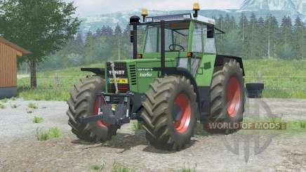 Fendt Favorit 615 LSA Turbomatiꝅ for Farming Simulator 2013