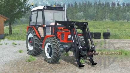 Zetor 7745〡front loader for Farming Simulator 2013