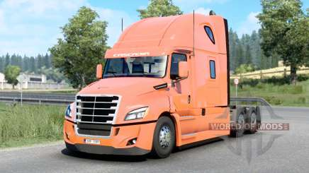 Freightliner Cascadia Raised Roof 2019 v1.18 for Euro Truck Simulator 2