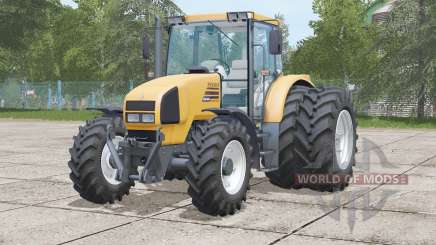 Renault Ares 550 RZ〡dual rear wheels for Farming Simulator 2017