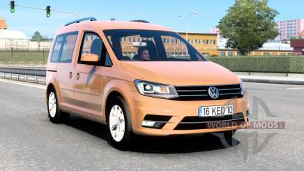 Volkswagen Caddy (Type 2K) 2016 v1.8 for Euro Truck Simulator 2