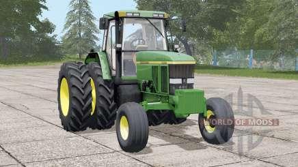 John Deere 7800〡dual rear wheels for Farming Simulator 2017
