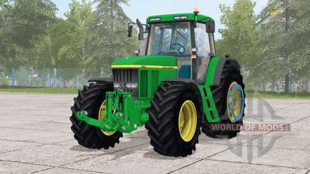 John Deere 7710〡wheels selection for Farming Simulator 2017