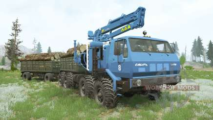 KRAz-7E-6316 Siberia〡s cargo for MudRunner