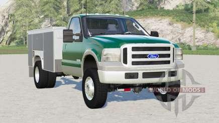 Ford F-350 Utility Truck for Farming Simulator 2017