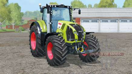 Claas Axion 870〡animated front axle for Farming Simulator 2015