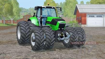 Deutz-Fahr Agrotron X 720〡double wheels for Farming Simulator 2015