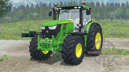 John Deere 6R series for Farming Simulator 2013