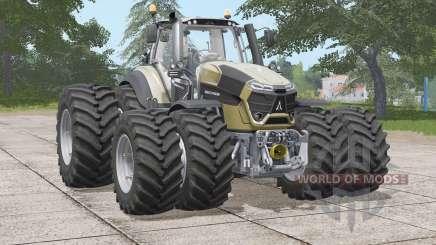 Deutz-Fahr Serie 9 TTV Agrotron〡twin weels for Farming Simulator 2017