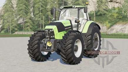 Deutz-Fahr Serie 7 TTV Agrotron〡with new tire config provided for Farming Simulator 2017