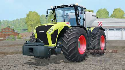 Claas Xerion 4500 Trac VC〡included is a weights for Farming Simulator 2015