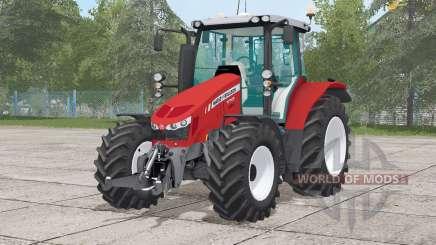Massey Ferguson 5712〡wheels selection for Farming Simulator 2017