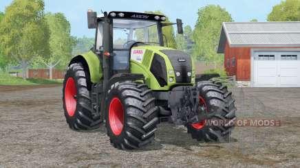 Claas Axion 830〡interactive control for Farming Simulator 2015