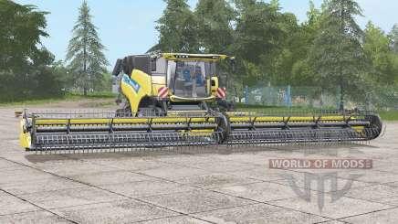 New Holland CR10.90〡wider wheels for Farming Simulator 2017