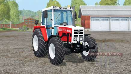 Steyr 8090A Turbo〡movable axis for Farming Simulator 2015