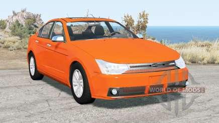 Ford Focus sedan (NA2) 2008 v2.15 for BeamNG Drive
